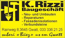 Kurt Rizzi Baugeschäft