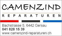 Camenzind - Reparaturen