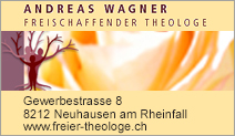 Andreas Wagner - Freischaffender Theologe