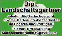 Schmid Franco Dipl. Landschaftsgärtner