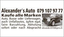 Alexander's Auto