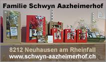 Familie B.&Ch. Schwyn – Aazheimerhof