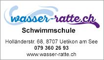 Schwimmschule wasser-ratte