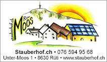 Stauberhof Moos Rüti