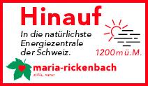 Tourismus Maria-Rickenbach