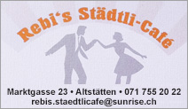 Rebi's Städtli-Café