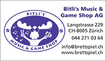 Bitli's Music & Game Shop AG