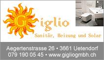 Giglio Sanitär, Heizung und Solar