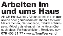Thomas Wili-Handwerker / Allrounder