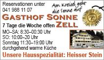 Gasthof Sonne Zell AG