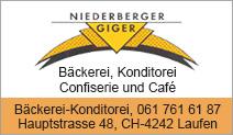 Bäckerei-Konditorei Niederberger-Giger