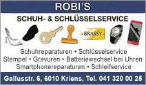 Robi's Schuh- und Schlüsselservice