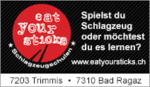 Eat Your Sticks – Schlagzeugschule Trimmis / Bad Ragaz