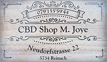 CBD Shop M. Joye