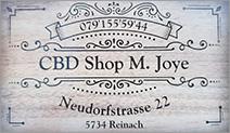 CBD Shop M. Joye