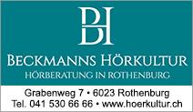 Beckmanns Hörkultur