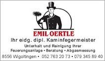Kaminfegermeister Emil Oertle