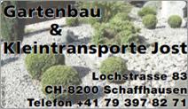 Gartenbau und Kleintransporte Jost