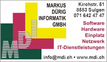 Markus Dürig Informatik GmbH