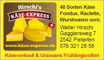 Hirschi's – Käse-Express