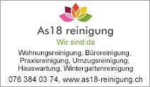 AS18 Reinigung