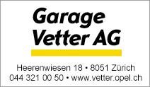 Garage Vetter AG