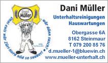 D. Müller Unterhaltsreinigungen und Hauswartungen