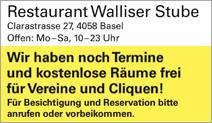 Restaurant Walliser Stube