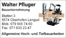 Walter Pfluger Bauunternehmung