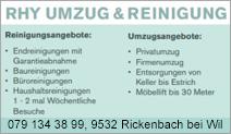 RHY - UMZUG & REINIGUNG
