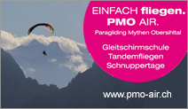 Paragliding Mythen Obersihltal
