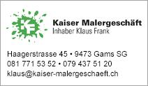 Kaiser Malergeschäft