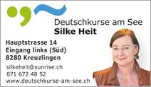 Deutschkurse am See Silke Heit