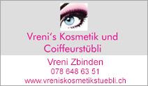 Vreni's Kosmetik und Coiffeurstübli