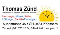 Ingenieurbüro Thomas Zünd
