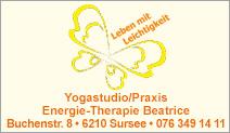 Yogastudio/Praxis Energie-Therapie Beatrice