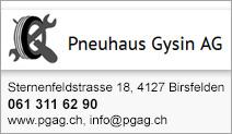 Pneuhaus Gysin AG