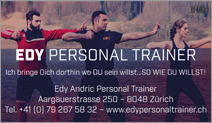 Edy Andric Personal Trainer