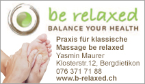 be relaxed BALANCE YOUR HEALTH