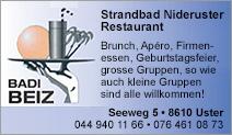 Restaurant Strandbad Niederuster
