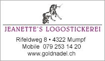 Jeanette's Logostickereien