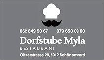 Restaurant Dorfstube Myla