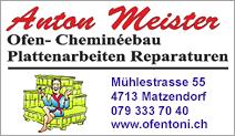 Anton Meister Ofen-Cheminéebau