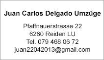 Juan Carlos Delgado Umzüge