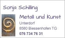 Sonja Schilling Metall und Kunst