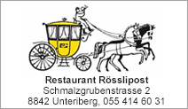 Restaurant Rösslipost