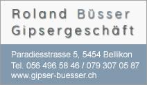 Gipsergeschäft Roland Büsser