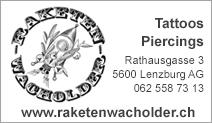 Raketenwacholder Tattoos & Piercings