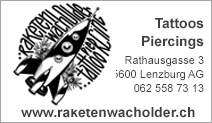 Raketenwacholder Tattoos & Piercings