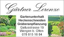 Gärtner Lorenzo